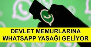 Memurlara #039;WhatsApp ve Telegram#039;...